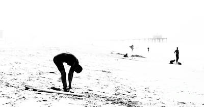 Photograph - Surfer by Nicholas Burningham