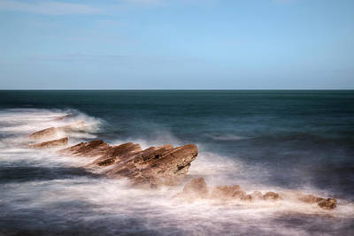 Ledge Photograph - Swanage - England by Joana Kruse