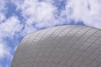 Australia Photograph - Sydney Opera House Roof Detail by Sandy Taylor