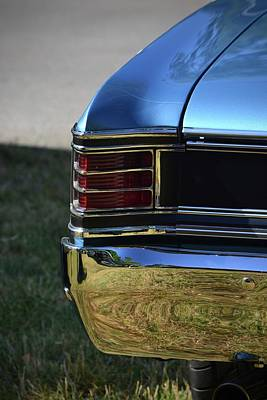 Photograph - Taillight by Dean Ferreira