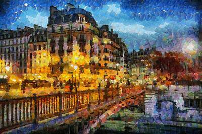 Paris Shop Digital Art - Take Me To Paris And Leave Me There by Sir Josef - Social Critic -  Maha Art