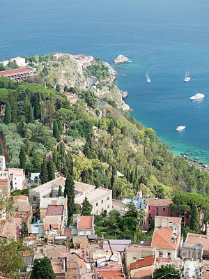 Photograph - Taormina Panorama by Rod Jones
