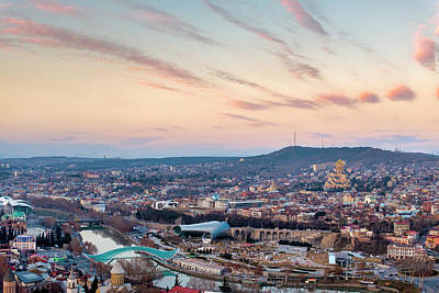Photograph - View Of Tbilisi by Fabrizio Troiani