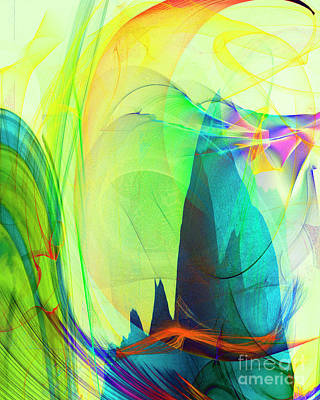 Digital Art - Tell It On A Mountain #4 by Edmund Nagele