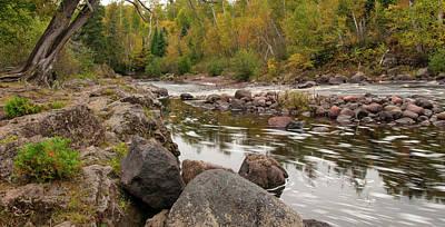 Photograph - Temperance River by Steve Stuller