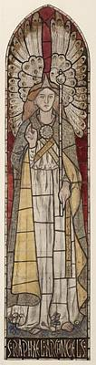 Raphael Archangel Painting - The Archangel Raphael by William Morris