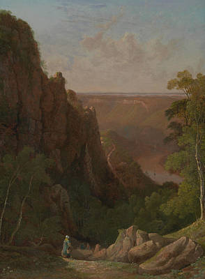 The Avon Gorge Art Print by Francis Danby
