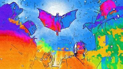 Superman Digital Art - The Batman Art by Egor Vysockiy