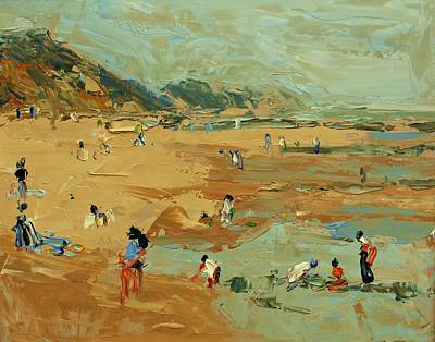 Painting - The Beach by Brian Simons