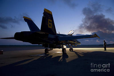 the Blue Angels Art Print by Celestial Images