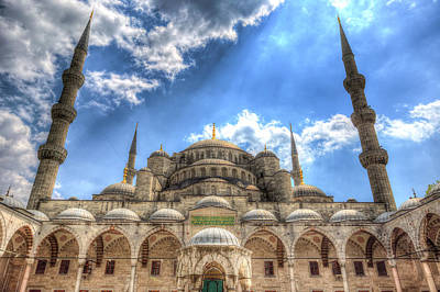 Photograph - The Blue Mosque Istanbul by David Pyatt