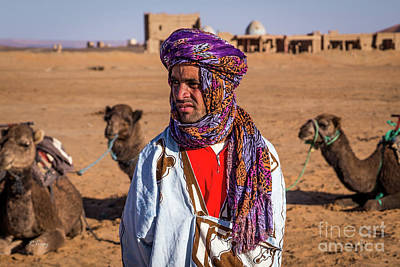 Photograph - The Camel Driver Up Close by Rene Triay Photography