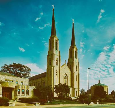 Photograph - The Cathedral Of The Immaculate Conception by L O C