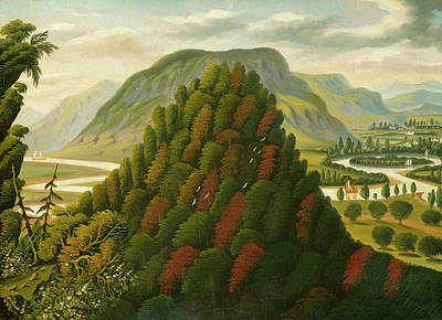 Painting - The Connecticut Valley by Thomas Chambers