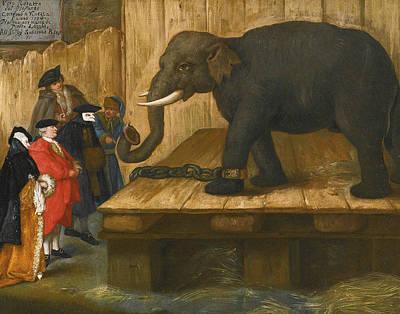 Painting - The Elephant by Treasury Classics Art
