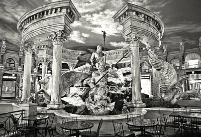 Photograph - The Forum Shops by Ricky Barnard