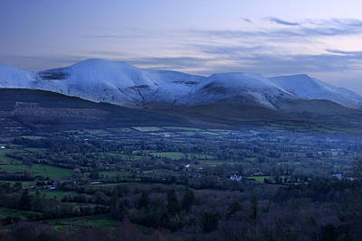 Animal Watercolors Juan Bosco - The Galtees  Irelands tallest inland mountains by Pierre Leclerc Photography