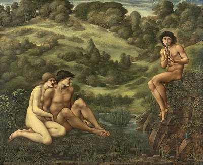 Painting - The Garden Of Pan by Edward Burne-Jones