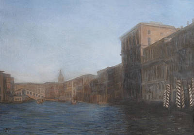 Painting - The Grand Canal by Masami Iida