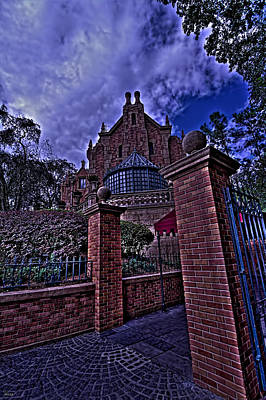 Haunted Mansion Photograph - The Haunted Mansion Hdr by Jason Blalock