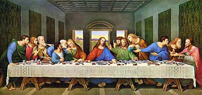 The Last Supper Art Print by Leonardo Da Vinci