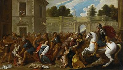 The Massacre Of The Innocents Art Print