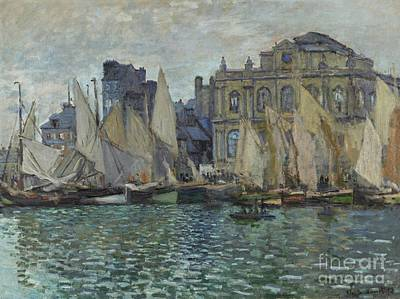 Painting - The Museum At Le Havre by Claude Monet