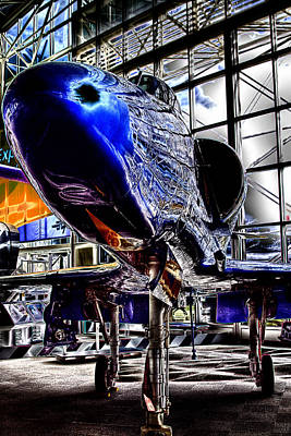 Angel Blues Photograph - The Navy's Blue Angel by David Patterson