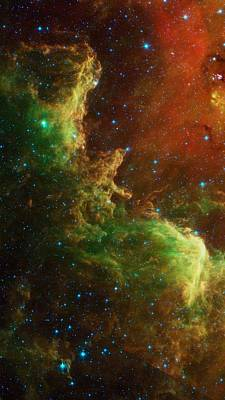Intergalactic Space Photograph - The North America Nebula by American School