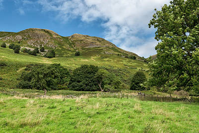 Photograph - The Ochil Hills In Central Scotland by Jeremy Lavender Photography