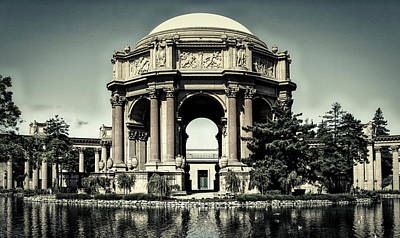 The Palace Of Fine Arts Art Print