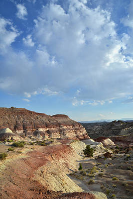 Photograph - The Road To Cathedral Valley by Ray Mathis