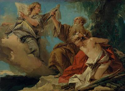Painting - The Sacrifice Of Isaac by Giovanni Domenico Tiepolo