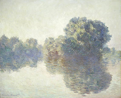 Painting - The Seine At Giverny  by Claude Monet