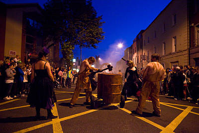 Street Performer Photograph - The Spraoi Street Festival, Waterford by Panoramic Images