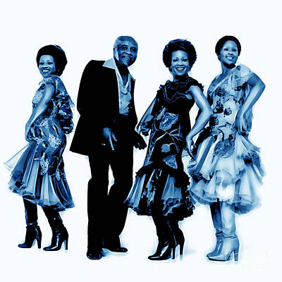 The Staple Singers Collection Art Print by Marvin Blaine