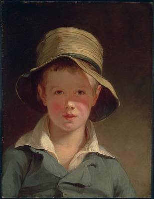 The Torn Hat Painting - The Torn Hat by Thomas Sully