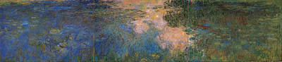Painting - The Waterlily Pond by Claude Monet