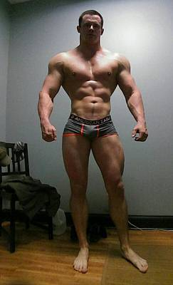 Photograph - The Wrestler by Jake Hartz