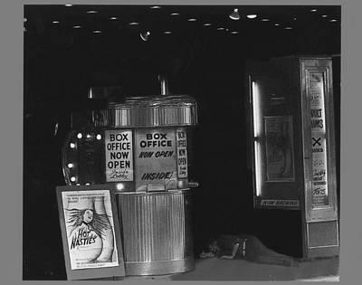 Rusty Trucks - Theater Homage Snoozing Drunk Pilgrim Porn House Combat Zone Boston Massachusetts 1977-2008 by David Lee Guss