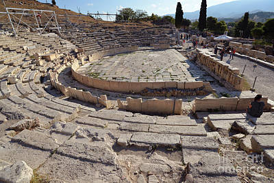Photograph - Theater Of Dionysus by George Atsametakis