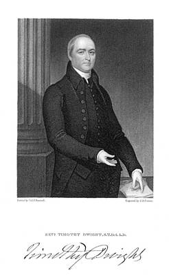 Clergy Photograph - Timothy Dwight (1752-1817) by Granger