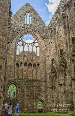 Photograph - Tintern Abbey by Patricia Hofmeester
