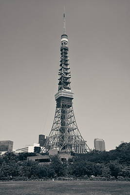 Photograph - Tokyo Tower by Songquan Deng