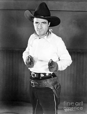 Photograph - Tom Mix (1880-1944) by Granger