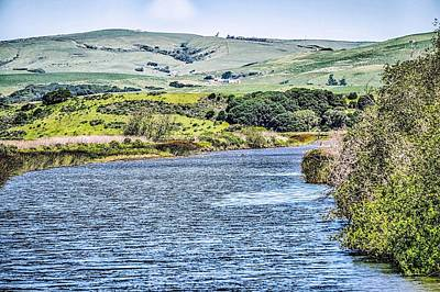 Photograph - Tomales Bay In Point Reyes National Seashore Park Near San Franc by Alex Grichenko