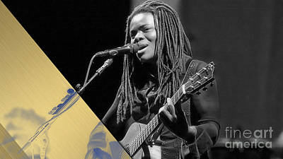 Rock Digital Art - Tracy Chapman Collection by Marvin Blaine