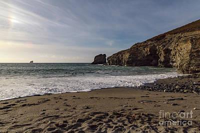 Giuseppe Cristiano - Trevellas Cove Cornwall by Brian Roscorla