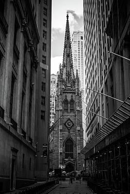 Photograph - Trinity Church by Robert J Caputo