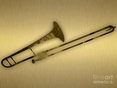 Trombone Collection Art Print